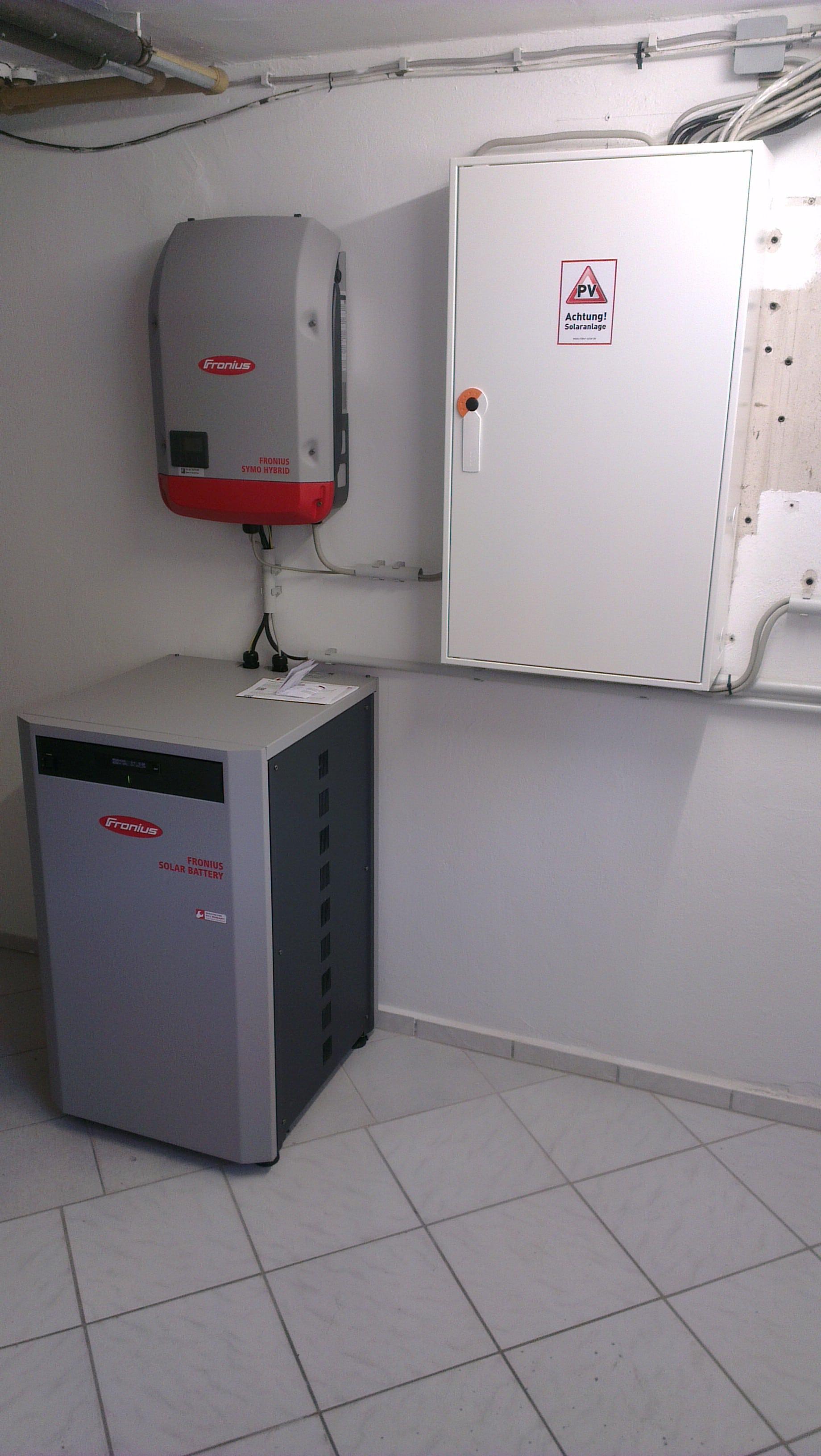Förderrechner für Speicher von Solarstrom